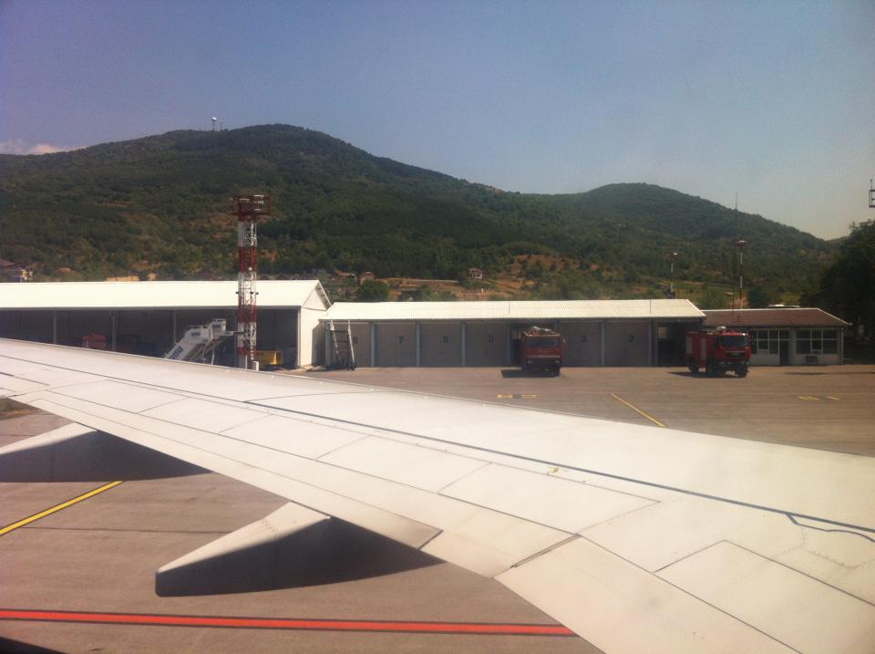 Vliegveld Ohrid