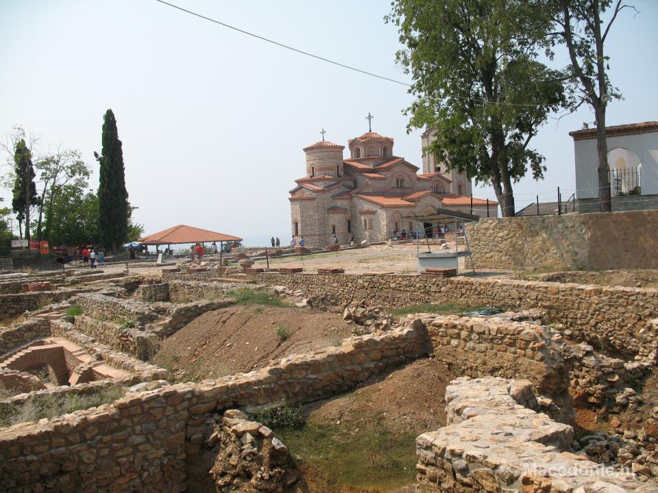 Archeologische bouwplaats bij universiteit