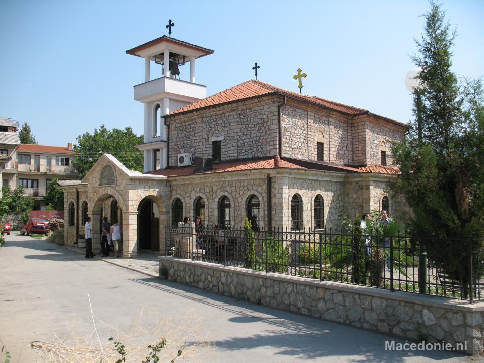 Christelijke kerk Ohrid