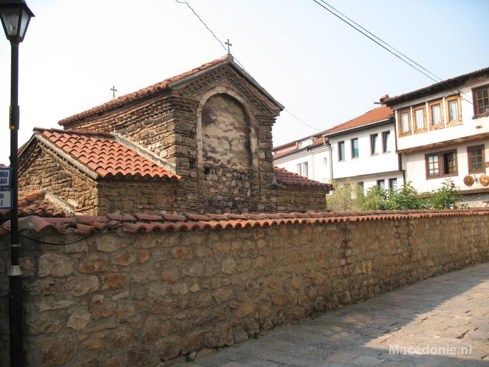Een klein kerkje in Ohrid