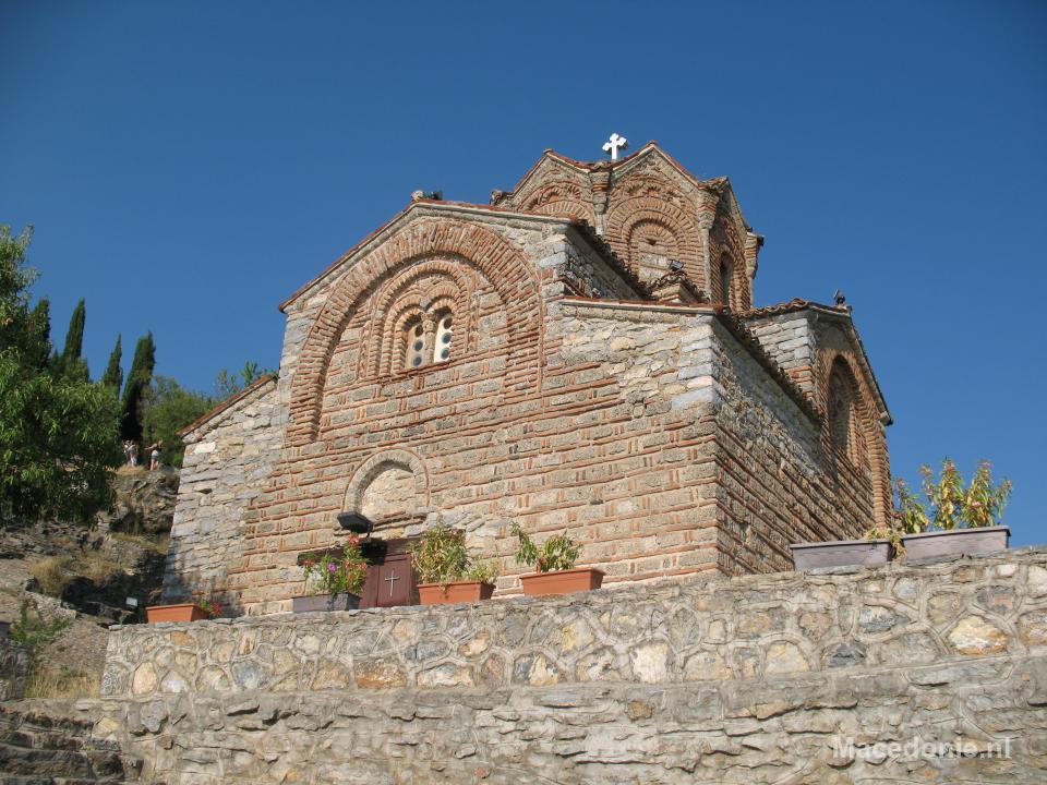 Kerkje op rots