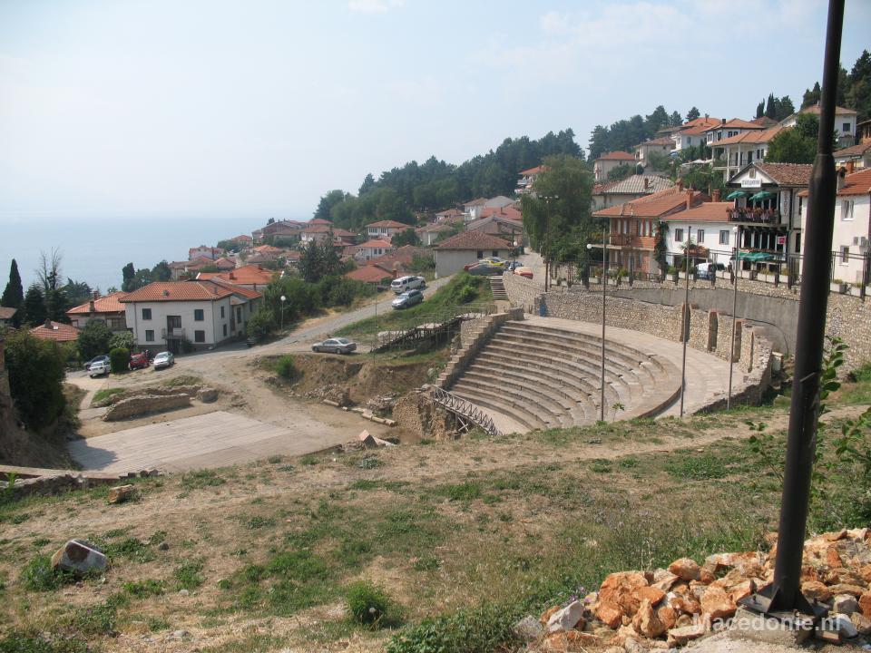 Kleiner amfitheater Ohrid