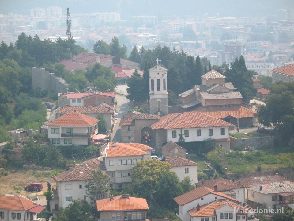 Ohrid van bovenaf