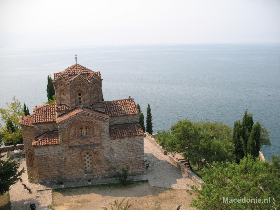 Ohrids bekende kerkje