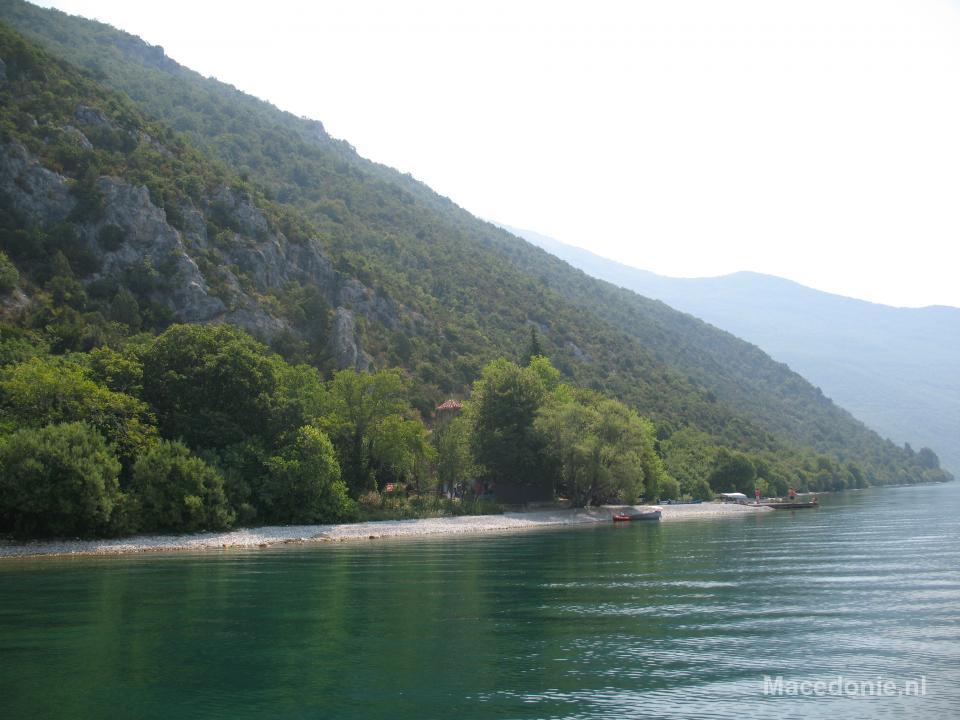 Privstrand meer van Ohrid