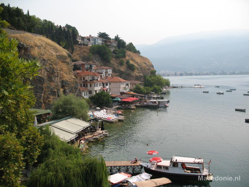 Toerisme aan het meer van Ohrid
