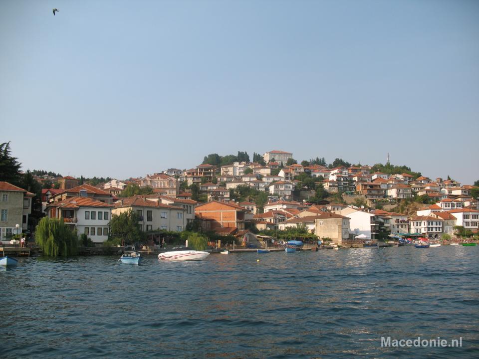 Volgebouwde heuvel Ohrid